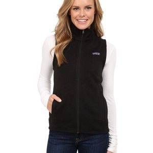 Patagonia The Better Sweater Black Vest Womens XS